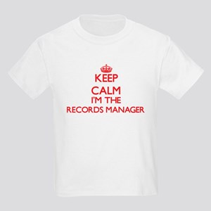 Keep calm I'm the Records Manager T-Shirt
