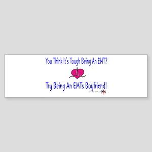 EMTs Boyfriend Bumper Sticker