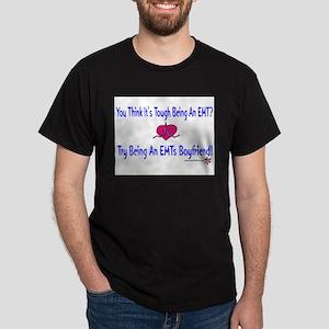 EMTs Boyfriend Dark T-Shirt