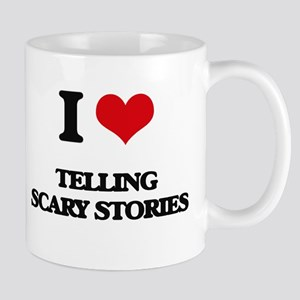 telling scary stories Mugs