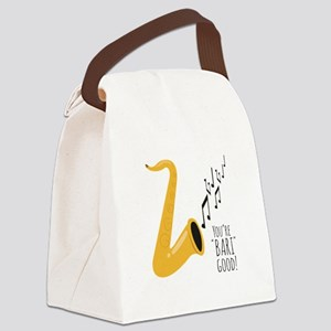 You're Bari Good! Canvas Lunch Bag