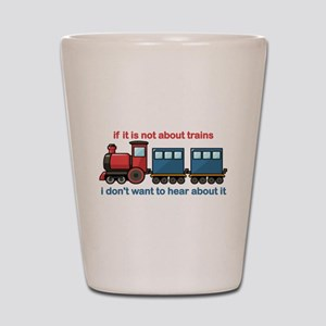 Train Talk Shot Glass