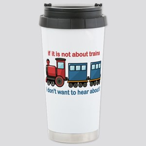 Train Talk Stainless Steel Travel Mug