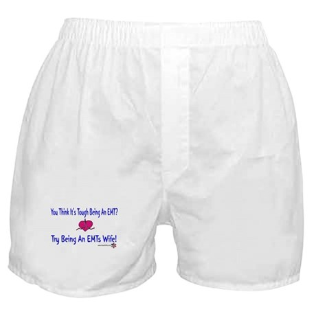 EMTs Wife Boxer Shorts