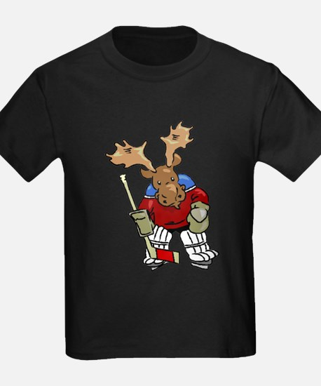 Moose Playing Hockey T