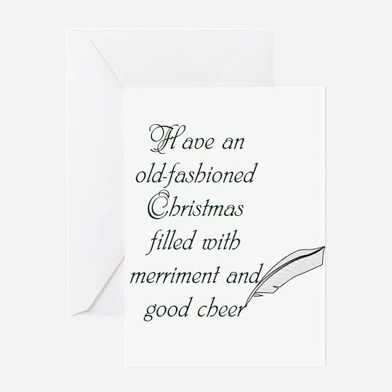 Good cheer Greeting Cards