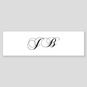 JB-cho black Bumper Sticker