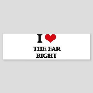 the far right Bumper Sticker