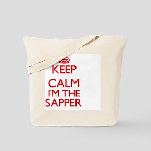 Keep calm I'm the Sapper Tote Bag