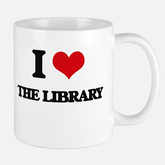 the library Mugs