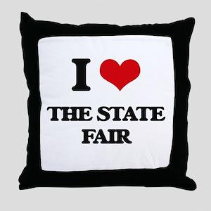 the state fair Throw Pillow