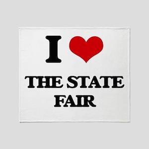 the state fair Throw Blanket