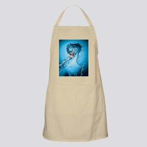 Water Snake Graphic Illustration Apron