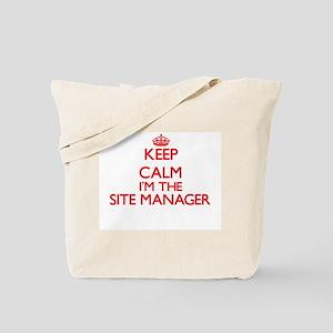 Keep calm I'm the Site Manager Tote Bag
