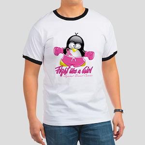 BC Fighting Penguin Ringer T