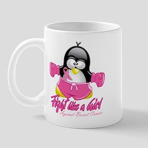 BC Fighting Penguin Mug