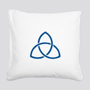 HOLY TRINITY Square Canvas Pillow
