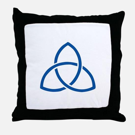 HOLY TRINITY Throw Pillow