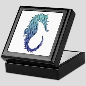 Wave Seahorse Trinket Box