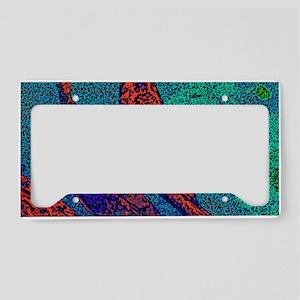 Wooden Coy License Plate Holder