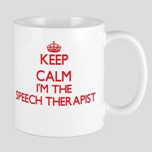Keep calm I'm the Speech Therapist Mugs