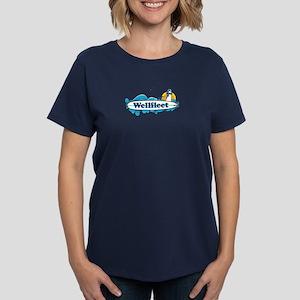 Wellfleet - Cape Cod Massachu Women's Dark T-Shirt
