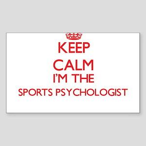 Keep calm I'm the Sports Psychologist Sticker