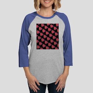 Pink Black Menorahs Hanukkah 4 Long Sleeve T-Shirt