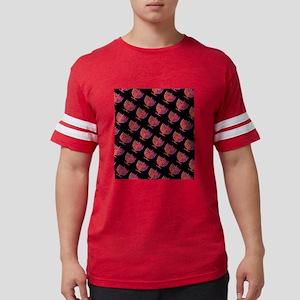 Pink Black Menorahs Hanukkah 4Hannah T-Shirt
