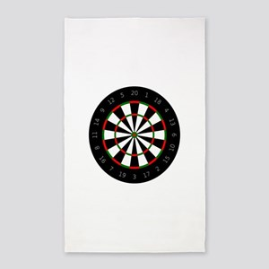 LARGE DARTBOARD Area Rug