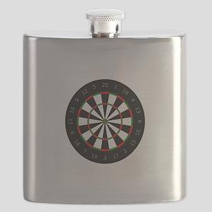 LARGE DARTBOARD Flask