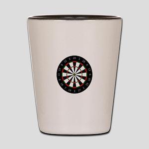 LARGE DARTBOARD Shot Glass