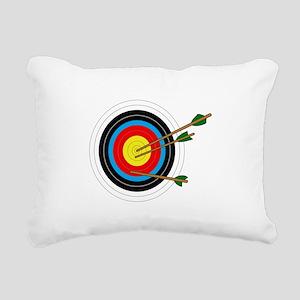 ARCHERY TARGET Rectangular Canvas Pillow
