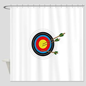 ARCHERY TARGET Shower Curtain