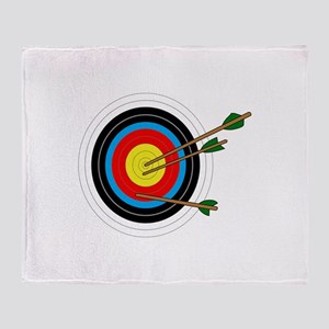 ARCHERY TARGET Throw Blanket