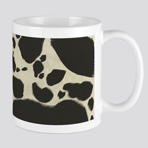 Faux Holstein Cow Cowhide Pattern Mug