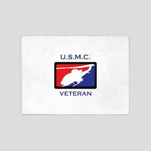 USMC VETERAN 5'x7'Area Rug