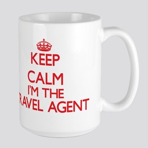 Keep calm I'm the Travel Agent Mugs