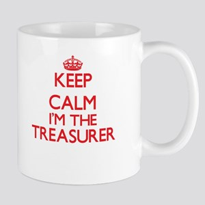 Keep calm I'm the Treasurer Mugs