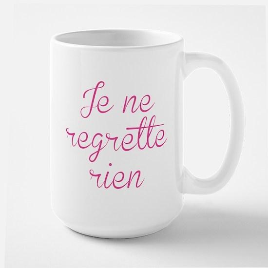 Je Ne Regrette Rien Large Mug