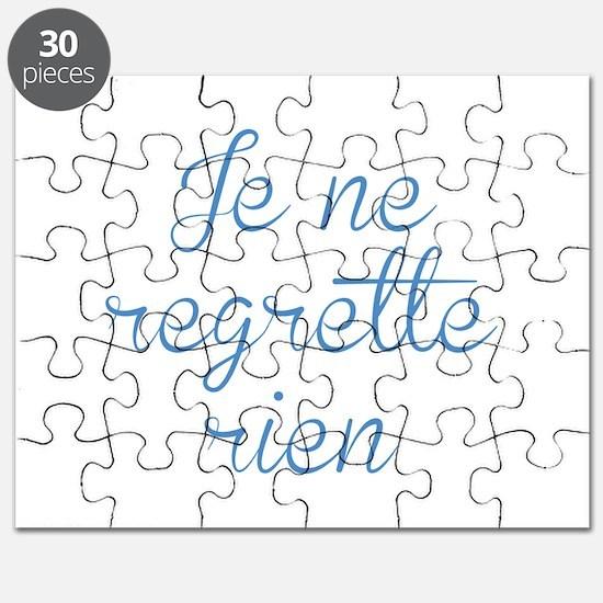Je Ne Regrette Rien Puzzle