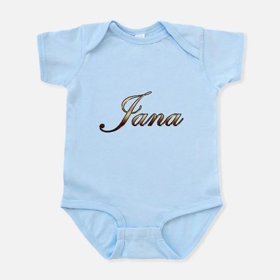 Gold Jana Body Suit