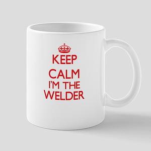 Keep calm I'm the Welder Mugs