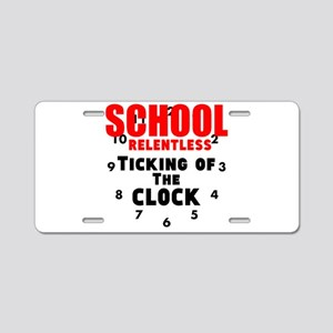 School Relentless Ticking of the Clock Aluminum Li