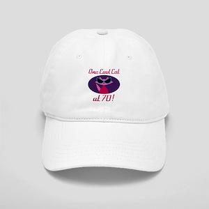 Cool Cat 70th Birthday Cap