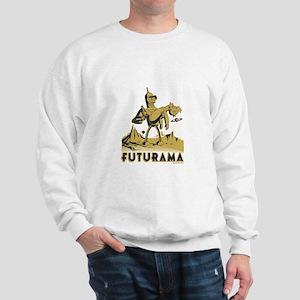 Futurama Bender and Fry Sweatshirt