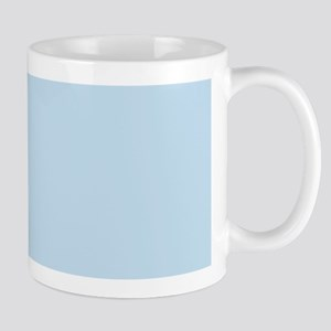 modern chic light blue  Mug
