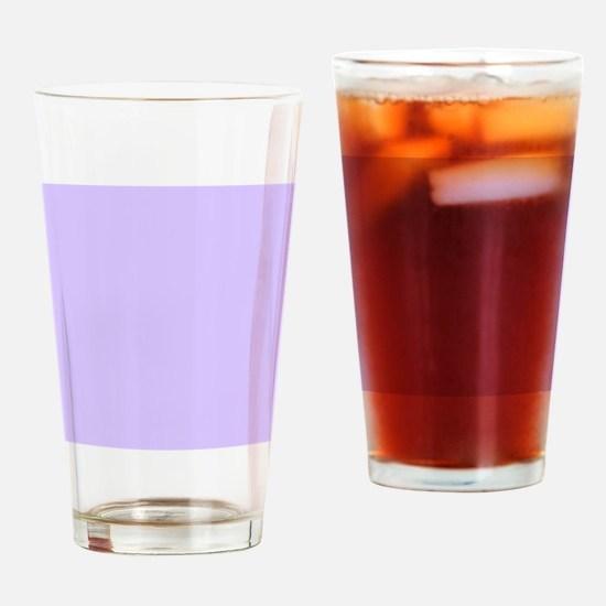 girly modern lilac purple  Drinking Glass