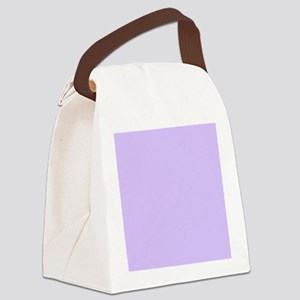 girly modern lilac purple  Canvas Lunch Bag