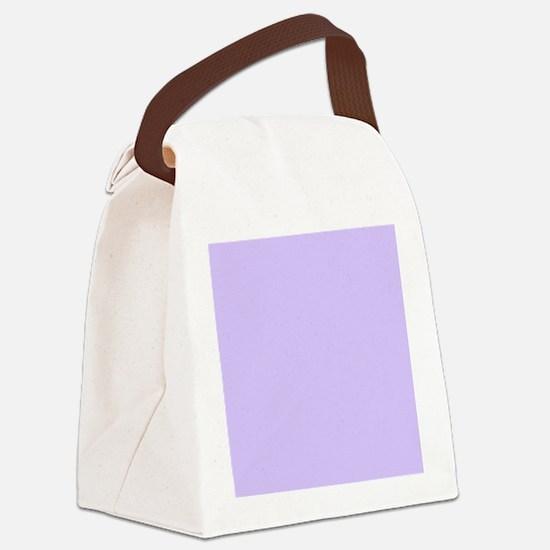 girly modern lilac purple  Canvas Lunch Bag